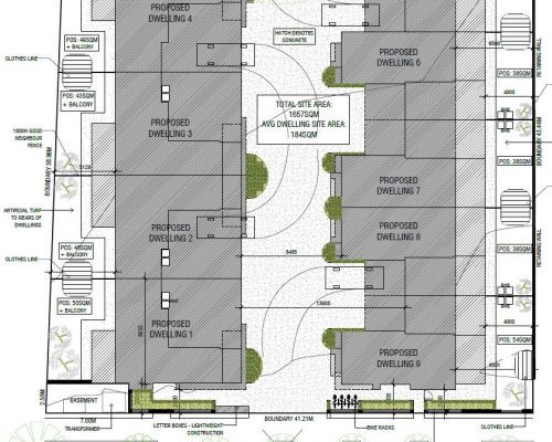 Site Plan Decorated